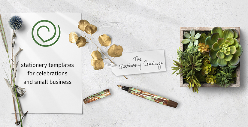 The Stationery Concierge Templates