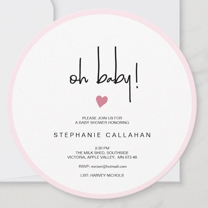girl baby sprinkle invitation
